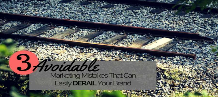 Avoidable Marketing Mistakes