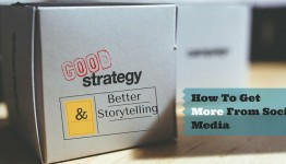Social Media Strategy and Storytelling