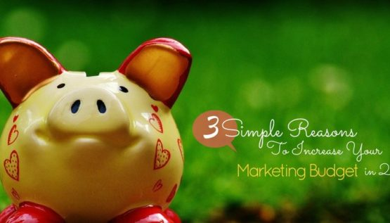 3 Simple Reasons To Increase Your Marketing Budget in 2017