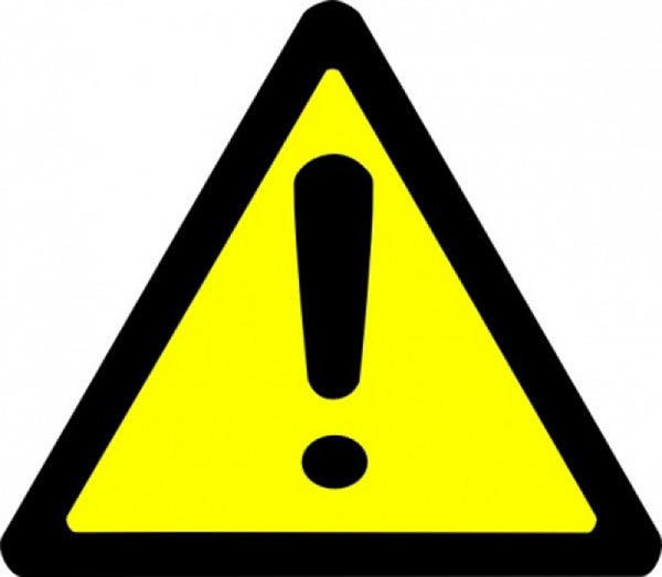 warning dangerously low pricing is a hazard to your warning clip art black and white warning clip art symbol